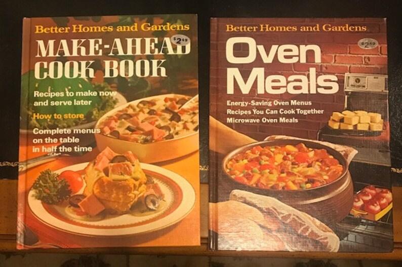 Vintage Better Homes & Gardens Cookbooks 1970s