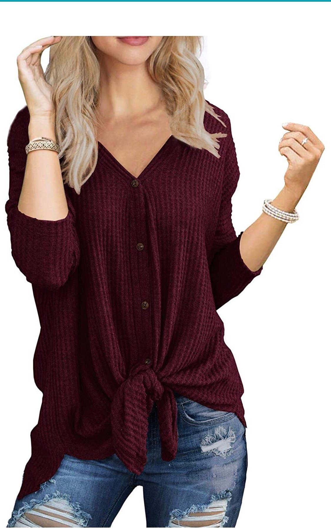 Tunic Blouse tie down