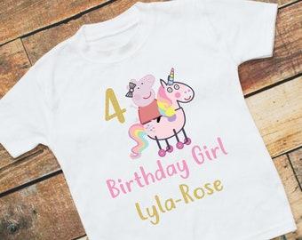 ba3334d773d Girls Peppa Pig T-Shirt