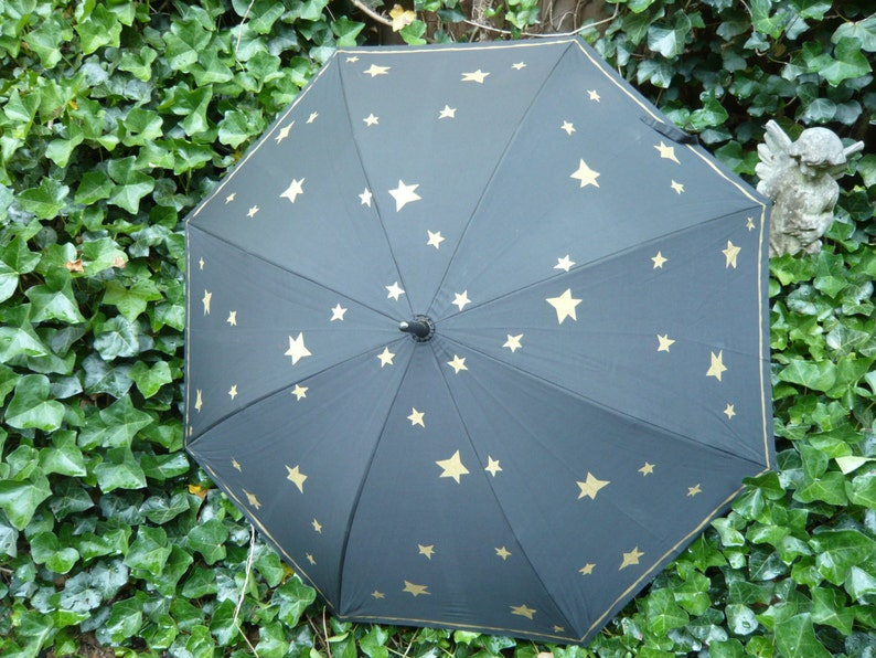 The Stars and the Moon Umbrella for Day or Evening Designed by image 0