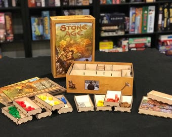 Stone Age (with Expansion) - Laser-Cut Insert