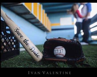 save the date baseball save the date save the date prop etsy