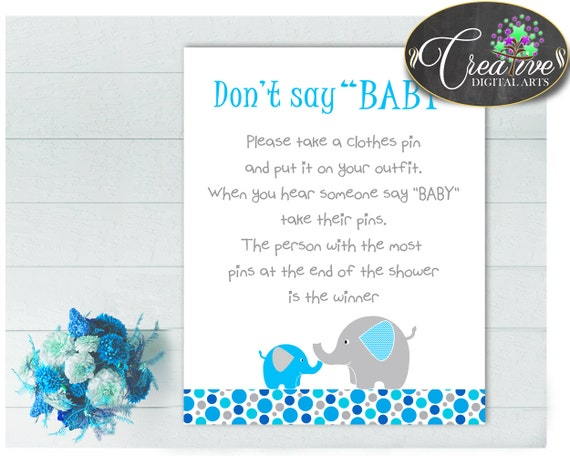 Baby Shower Dumbo Baby Shower Aqua What To Do Entertain Guests