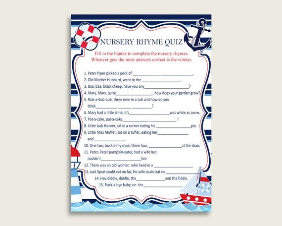This is a picture of Rhyming Game Printable with regard to nursery rhyme trivia