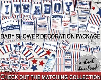 Decorations Baby Shower Decorations Baseball ...