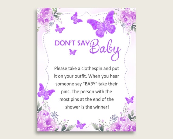 photograph relating to Don T Say Baby Free Printable known as Red White Dont Say Youngster Printable Sport, Lady Youngster Shower