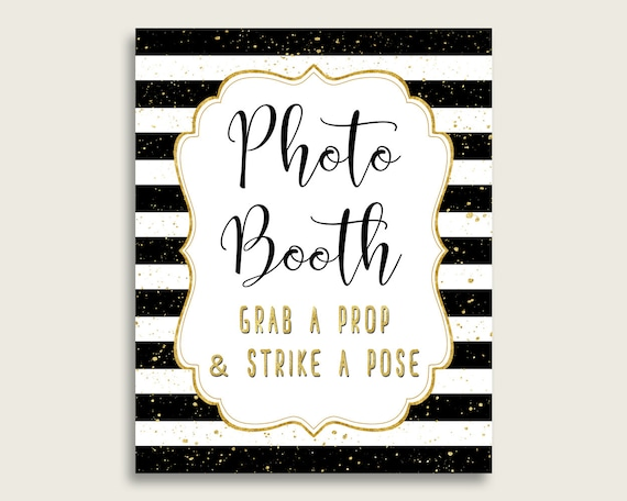 photo about Photo Booth Sign Printable titled Stripes Photobooth Signal Printable, Gender Impartial Little one