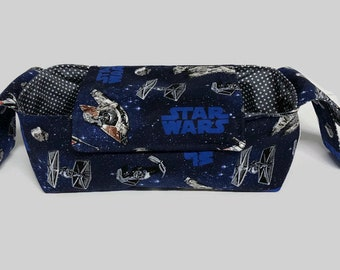 Pram Caddy Stroller Organiser Star Wars Ships Navy