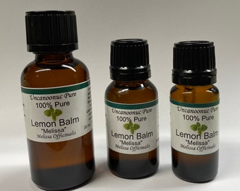 Lemon Balm Melissa 100% Pure Essential Oil ISO Certified GMP Accredited