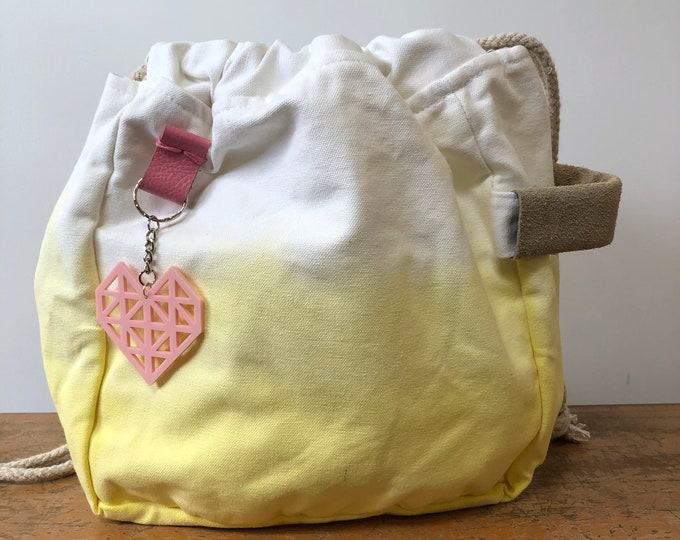 Hand Dip Dye Project Bag