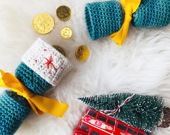 Crochet Christmas Cracker PDF pattern