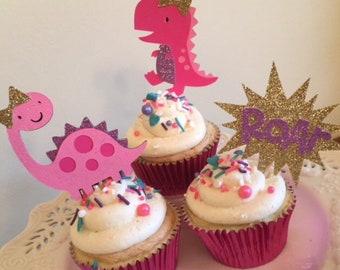 Girl Dinosaur Party