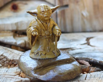 Boyfriend gift Father's day gift custom phone dock mens docking station Star Wars yoda personalized men charging station gift for brother