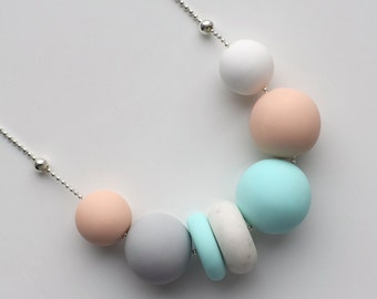 Mint Beige Necklace
