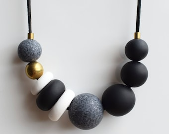 Black Cord Necklace