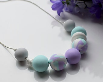 Violet Mint Necklace