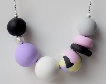 Violet Black Necklace