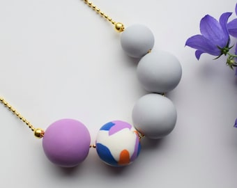 Bright Purple Necklace
