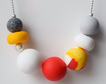Red & Yellow Necklace