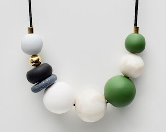 Khaki Green Necklace
