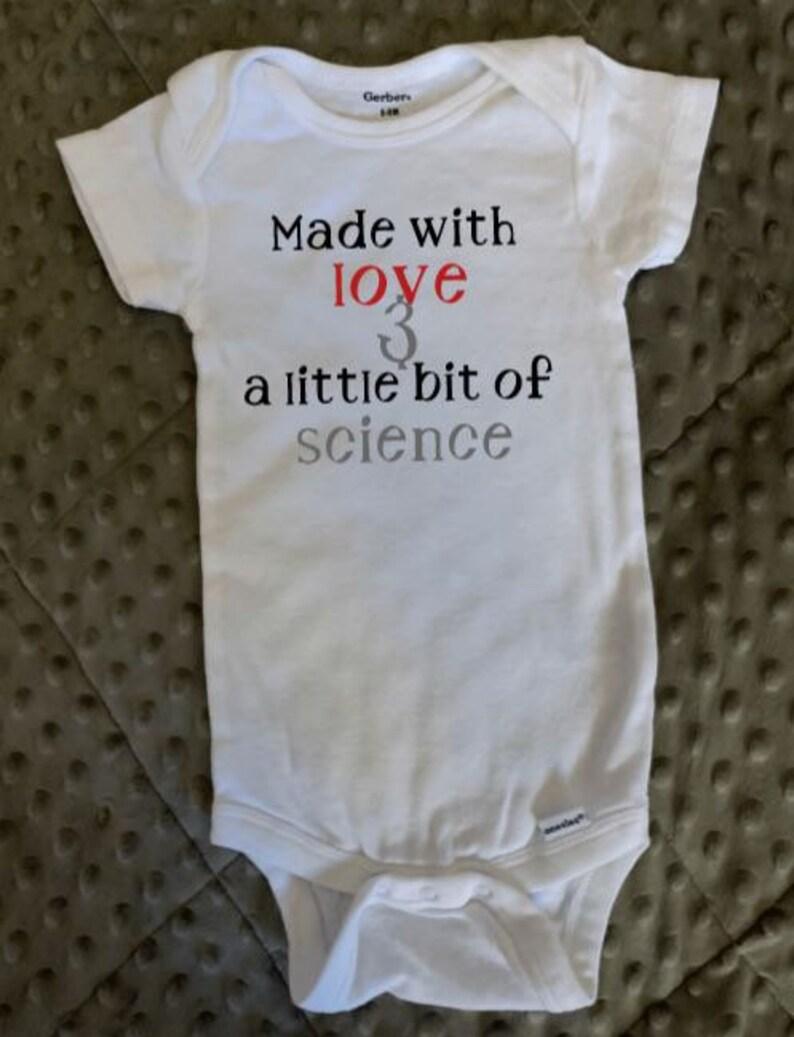 IUI Infertility Science Baby Onesie IVF