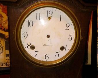 Rare Antique Sessions Mantle Clock for parts or repair