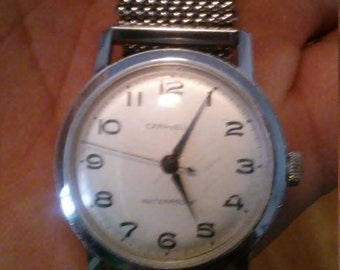 Vintage mens Caravelle wristwatch by Bulova