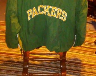 Green Bay Packers vintage reversible STARTER jacket pull over vintage starter jackets fall jackets green bay packers aaron rodgers