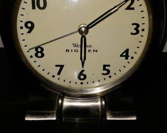 Vintage retro electric Westclox Big Ben alarm clock
