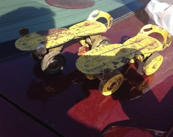 Rare chicago antique roller skate attachments