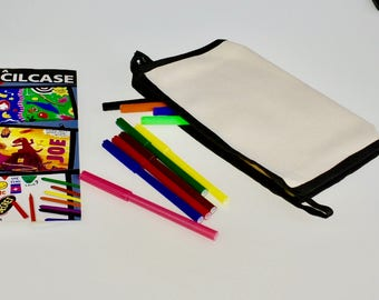 cool pencil cases etsy
