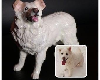 EXAMPLE LISTING Custom Painted Figurine - Pets