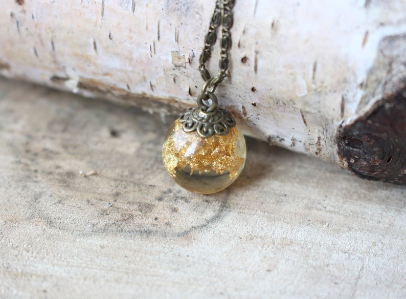 Gold flakes sun resin necklace Resin you are my sunshine jewelry Breath of the wild mother in law expecting mom gift for mama