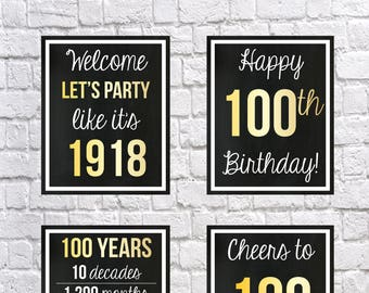 birthday signs etsy