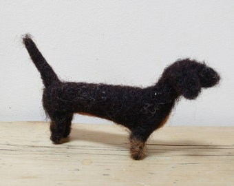 Sausage dog, dachshund, gift, gift for dog lovers, gift for her, felted dog, sausage dog gifts, new home gift, pet lovers, puppy,