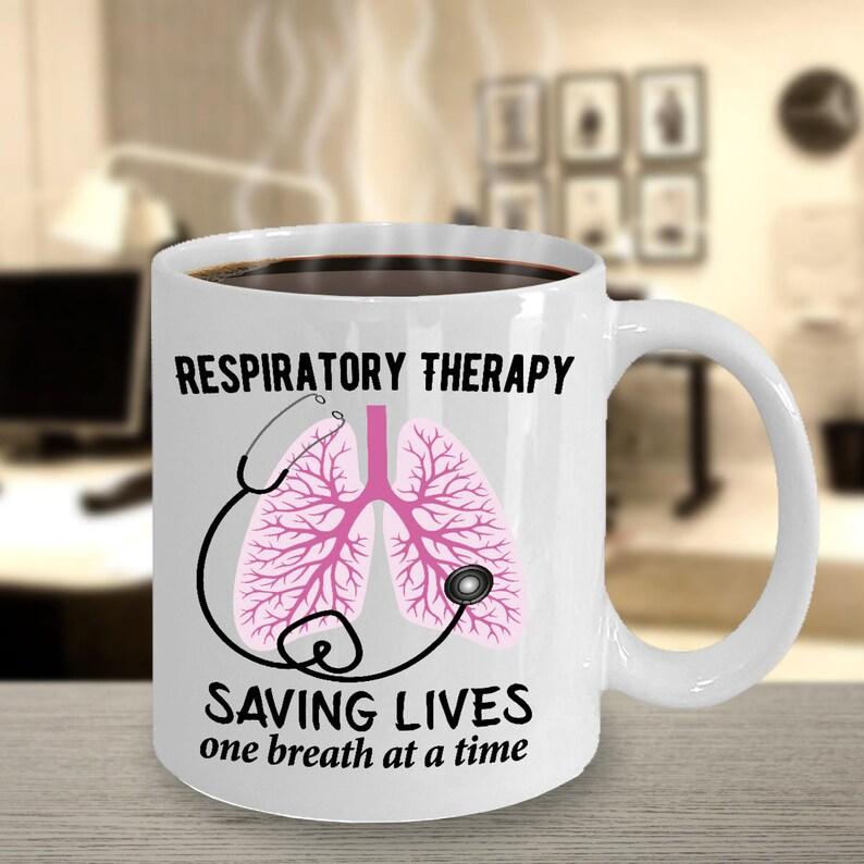 9e7275106 Respiratory Gift RRT Mugs Respiratory Therapy Gift for | Etsy