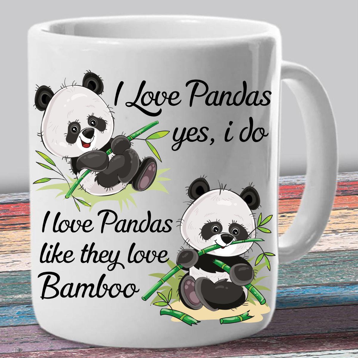 Panda-Geschenke-Panda-Kaffeebecher-Panda-Bär Tasse Tierfreund   Etsy
