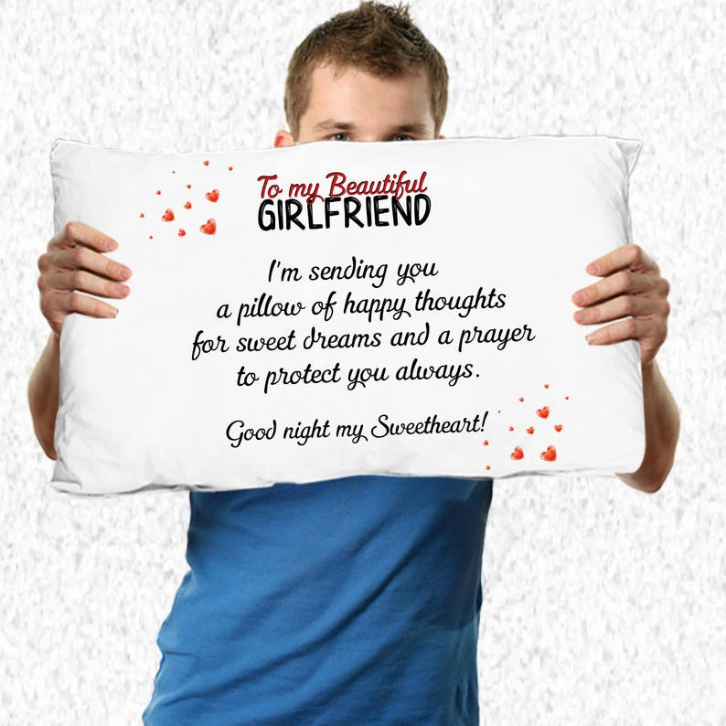 Girlfriend Birthday Gifts Ideas Pillow Case