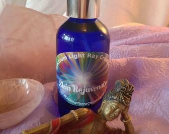 SKIN REJUVENATE Healing Spray, Crystal Infused High Vibrational Spray with Essential Oils, Meditation, Mt. Shasta