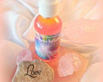 PINK FLAME INFUSION Spray - Ascended Master Blessed & Attuned Love High Frequency Adoration Manifestation Spiritual - Chakra - Aura - Wesak