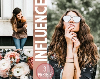 3 Instagram presets to make your photos pop - beautiful presets - influencer filters - everyday presets blogger filters blogger presets