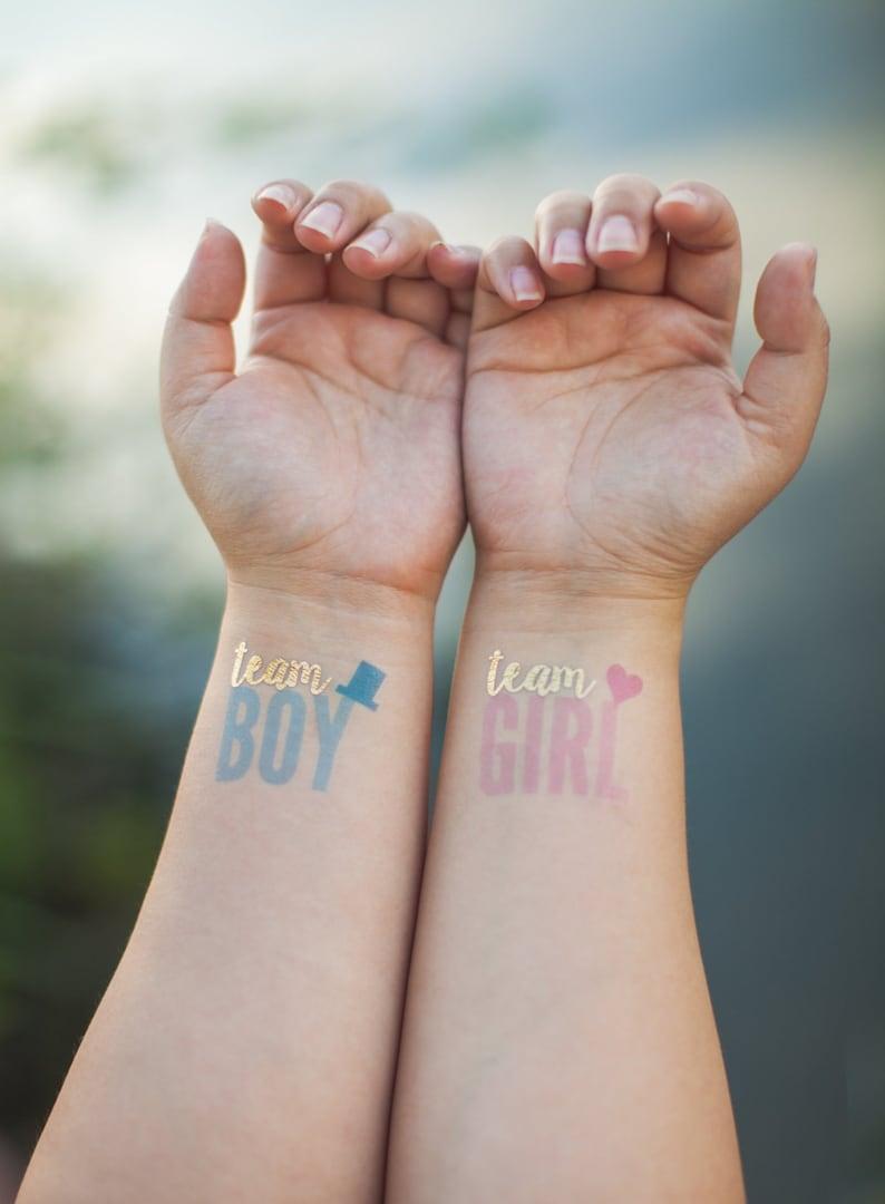 Baby-Geschlecht-Tattoos