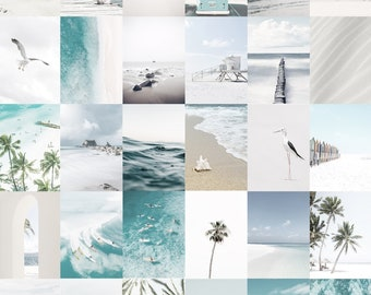 Beach Collage Etsy