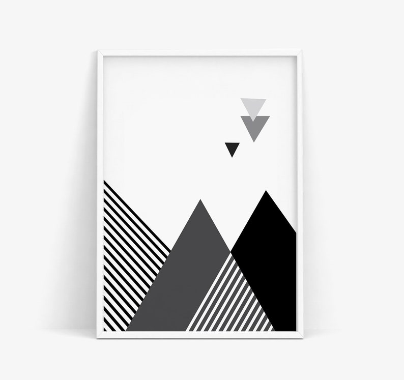 picture about Printable Triangles named Summary Triangles Print, Geometric Triangles Wall Artwork, Scandinavian Print, Printable Artwork, Instantaneous Obtain, Innovative Behavior Print