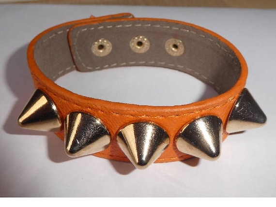 Lovely Leather Punk Goth Cuff Health & Beauty