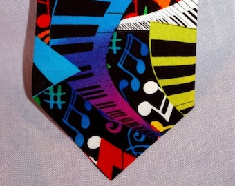 Music - Pianos - Keyboards Necktie