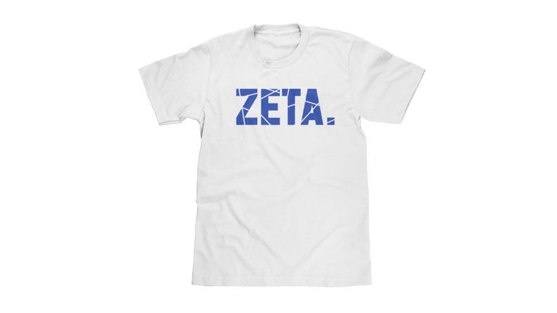 Zeta Phi Beta T-Shirt | black greek // nphc // sorority // greek gift //  crossing gift