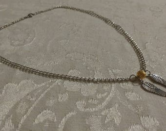 Golden Quidditch Necklace