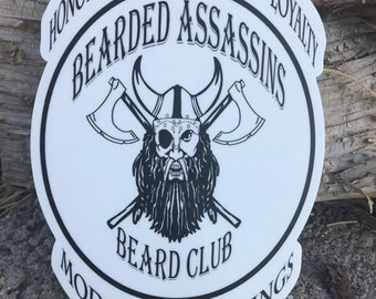 New Beard Club Stickers!!!!!