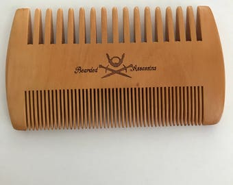Double Sided Beard Comb *New*